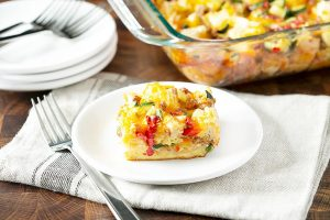 Italian Breakfast Casserole Brunch Recipe
