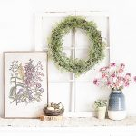 Spring Vignette | Simplicity with Greenery and Florals