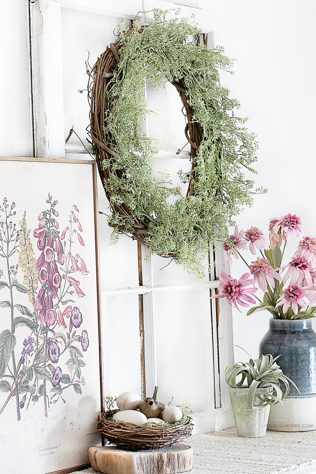 Lovely Spring Vignette