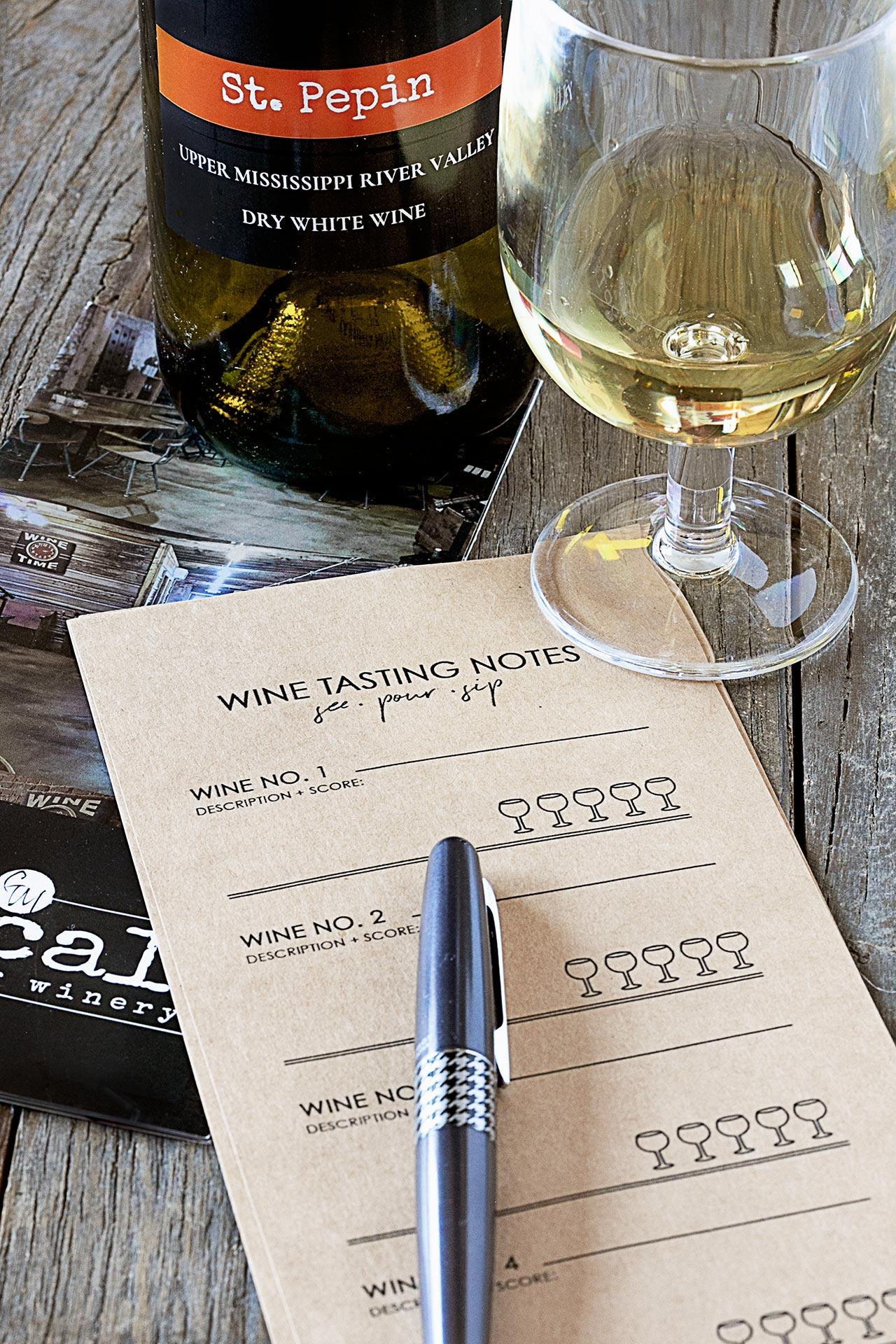 Travel Iowa White Wine