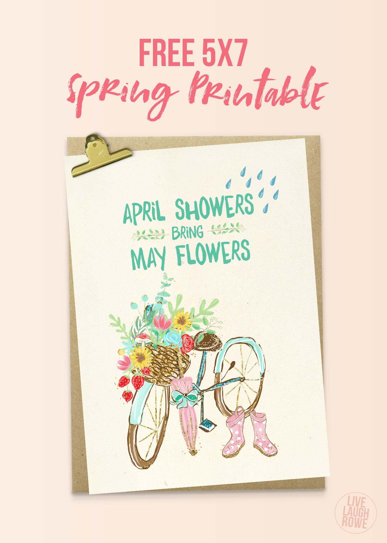 April Showers May Flowers